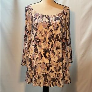ROSE & OLIVE WOMENS TOP 1X